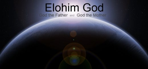 "Elohim God called himself ""Us"". It means Elohim God are two, God the Father and God the Mother."