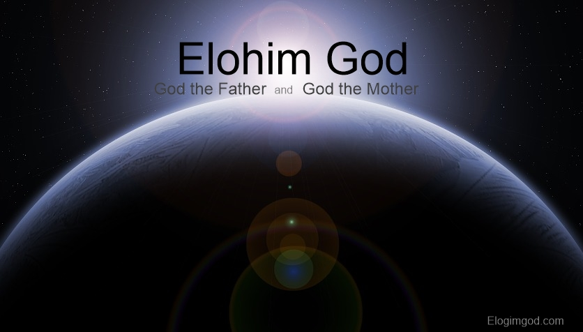 """Elohim God called himself """"Us"""". It means Elohim God are two, God the Father and God the Mother."""