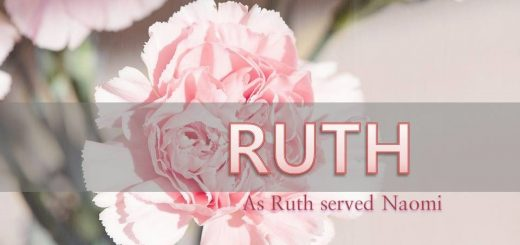 Book of Ruth teach us the way to serve Heavenly Mother.