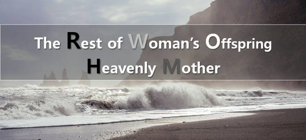 The rest of the woman's offspring are 144,000 who will be saved