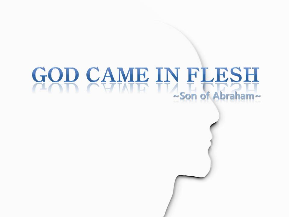 However it is not easy for many christian who are proclaiming themselves the children of God to believe in God the Mother and God came in flesh.