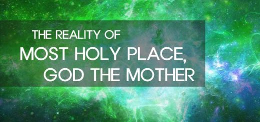 God the Mother, The Reality of the Most Holy Place